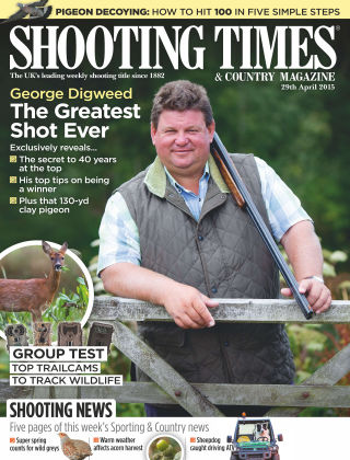 Shooting Times & Country Magazine 29th April 2015