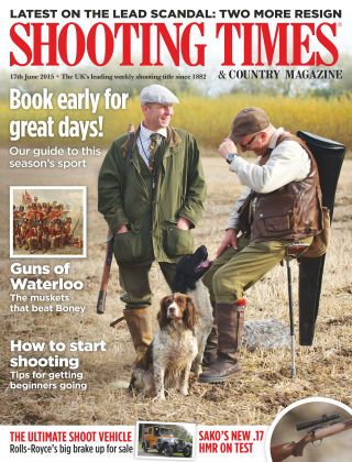 Shooting Times & Country Magazine 17th June 2015