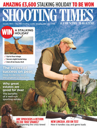 Shooting Times & Country Magazine 1st July 2015