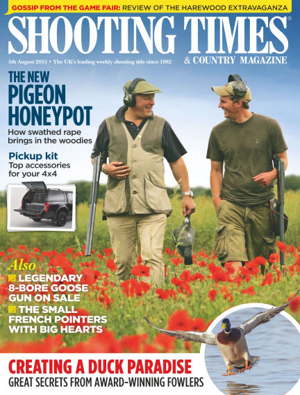 Shooting Times & Country Magazine August 12, 2015 00:00