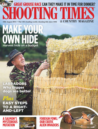 Shooting Times & Country Magazine 19th August 2015