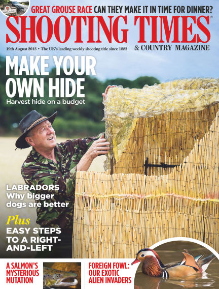 Shooting Times & Country Magazine August 26, 2015 00:00