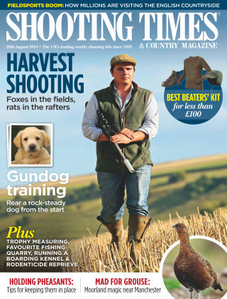Shooting Times & Country Magazine 26th August 2015