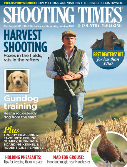 Shooting Times & Country Magazine September 02, 2015 00:00