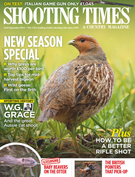 Shooting Times & Country Magazine September 09, 2015 00:00