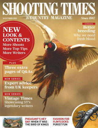 Shooting Times & Country Magazine 14th October 2015