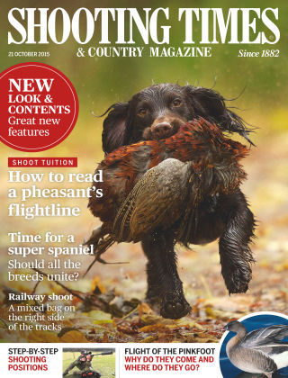 Shooting Times & Country Magazine 21st October 2015
