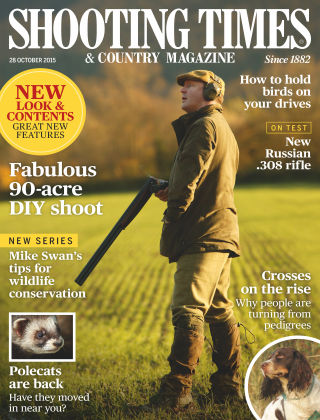 Shooting Times & Country Magazine 28th October 2015