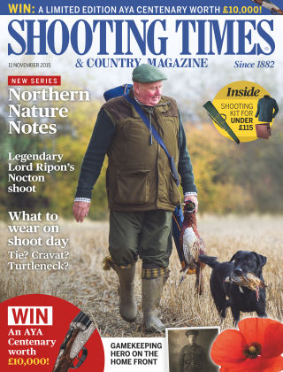 Shooting Times & Country Magazine 11th November 2015