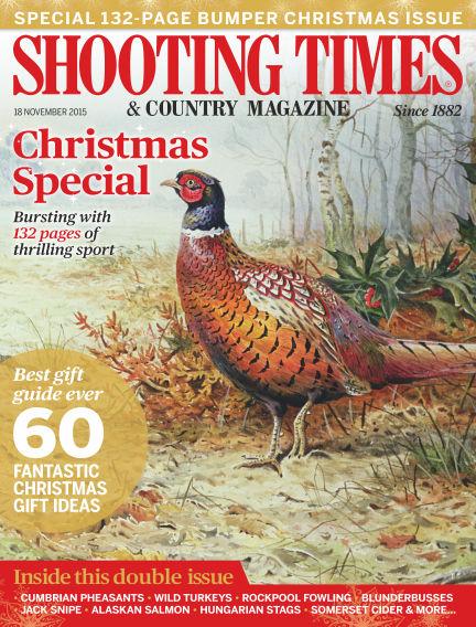 Shooting Times & Country Magazine November 25, 2015 00:00
