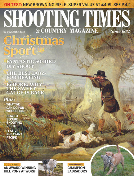 Shooting Times & Country Magazine December 30, 2015 00:00