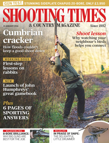 Shooting Times & Country Magazine January 13, 2016 00:00