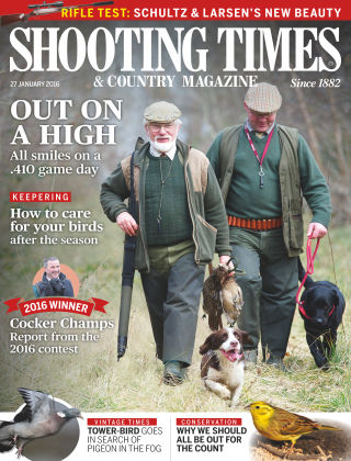 Shooting Times & Country Magazine 20th January 2016
