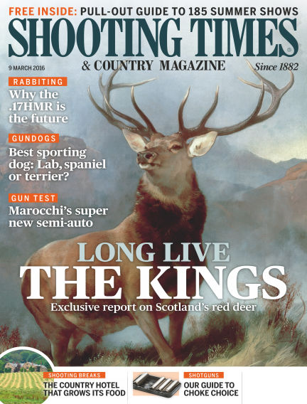 Shooting Times & Country Magazine March 16, 2016 00:00