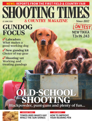 Shooting Times & Country Magazine 22nd June 2016