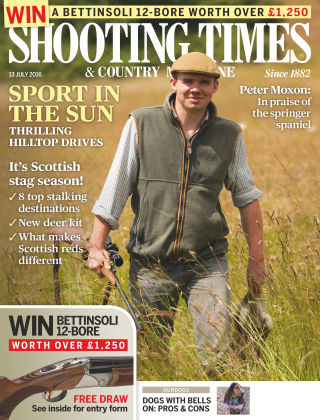Shooting Times & Country Magazine 13th July 2016