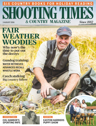 Shooting Times & Country Magazine 3rd August 2016