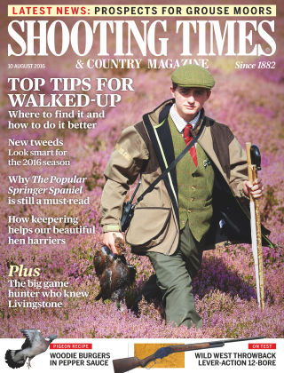 Shooting Times & Country Magazine 10th August 2016