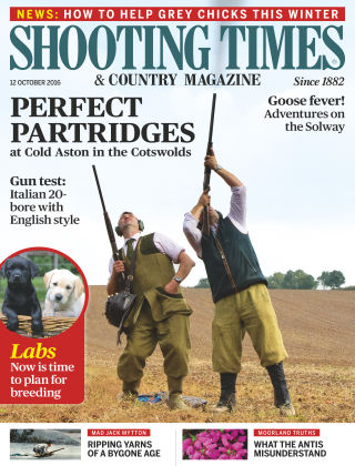 Shooting Times & Country Magazine 12th October 2016