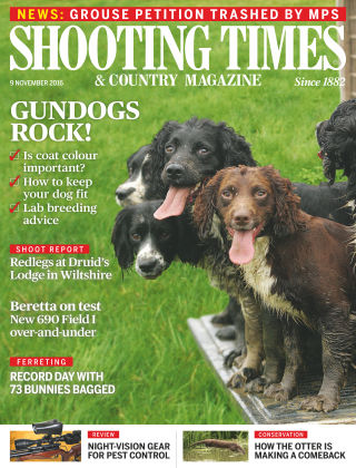 Shooting Times & Country Magazine 9th November 2016