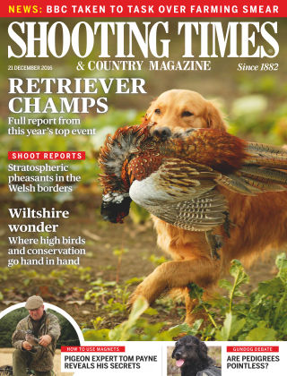 Shooting Times & Country Magazine 21st December 2016