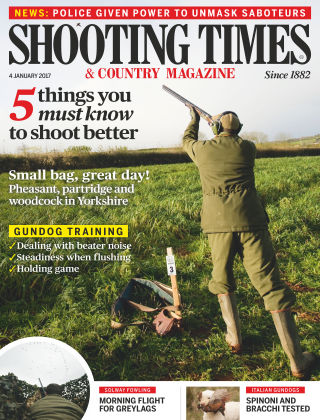 Shooting Times & Country Magazine 4th January 2017