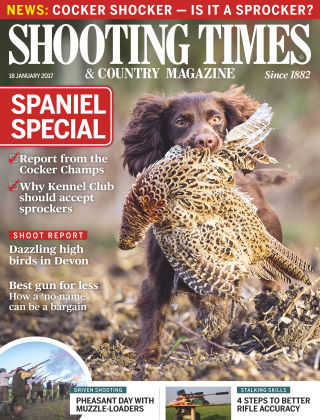 Shooting Times & Country Magazine 18th January 2017