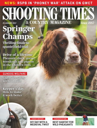 Shooting Times & Country Magazine 25th January 2017