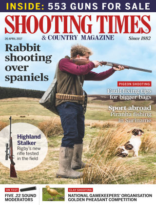 Shooting Times & Country Magazine 26th April 2017