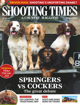 Shooting Times & Country Magazine 26th July 2017