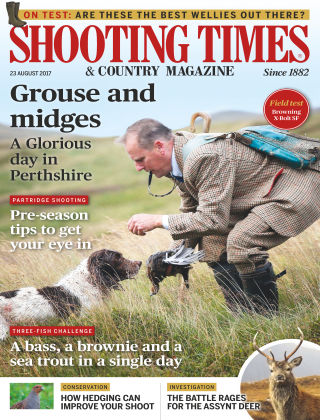 Shooting Times & Country Magazine 23rd August 2017