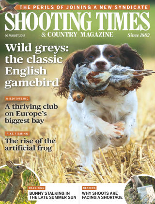 Shooting Times & Country Magazine 30th August 2017