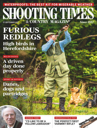 Shooting Times & Country Magazine 27th September 2017