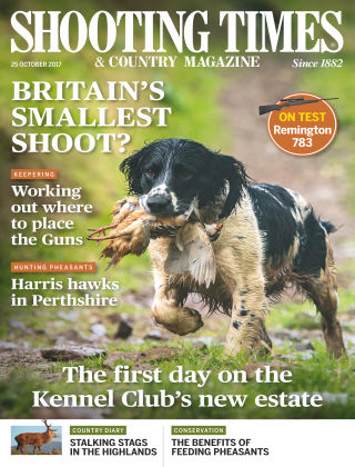 Shooting Times & Country Magazine 25th October 2017