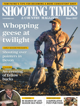 Shooting Times & Country Magazine 1st November 2017