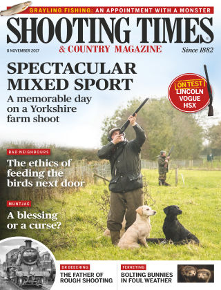Shooting Times & Country Magazine 8th November 2017