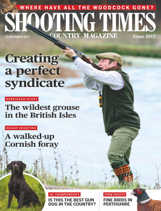 Shooting Times & Country Magazine 27th December 2017
