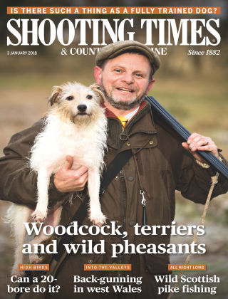 Shooting Times & Country Magazine 3rd January 2018