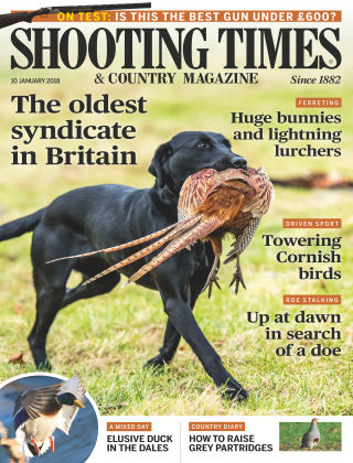 Shooting Times & Country Magazine 10th January 2018