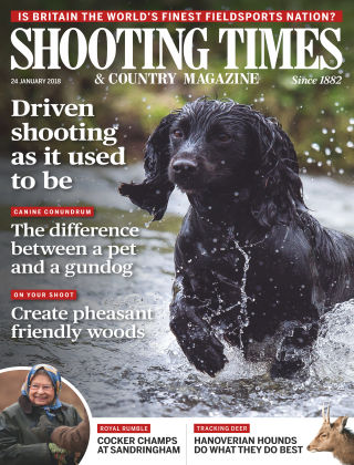Shooting Times & Country Magazine 23rd January 2018