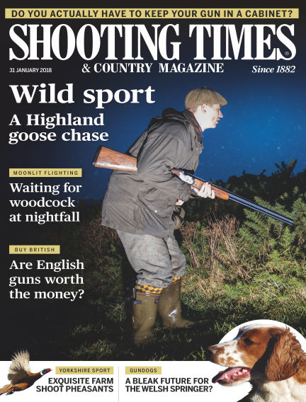 Shooting Times & Country Magazine January 31, 2018 00:00