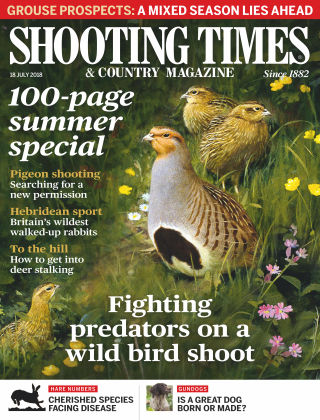Shooting Times & Country Magazine 18th July 2018