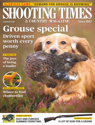 Shooting Times & Country Magazine 8th August 2018