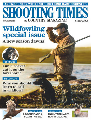 Shooting Times & Country Magazine 29th August 2018