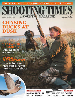 Shooting Times & Country Magazine 26th September 2018