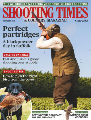 Shooting Times & Country Magazine 3rd October 2018