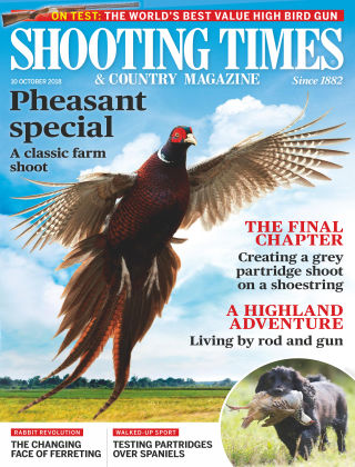 Shooting Times & Country Magazine 10th October 2018