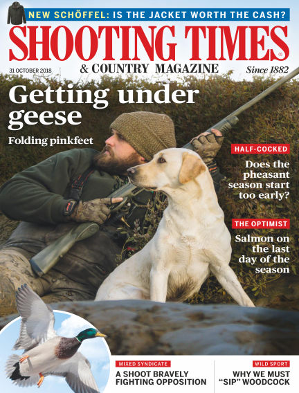 Shooting Times & Country Magazine October 31, 2018 00:00