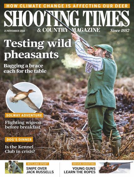 Shooting Times & Country Magazine November 21, 2018 00:00