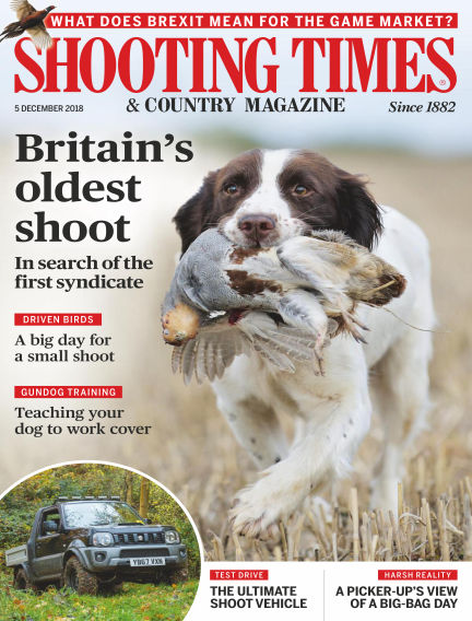 Shooting Times & Country Magazine December 05, 2018 00:00